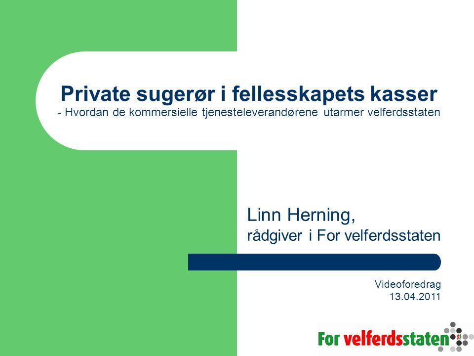Linn Herning, rådgiver i For velferdsstaten