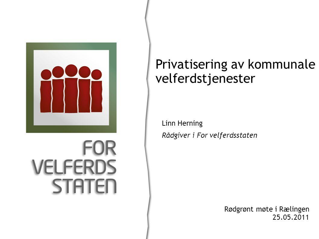 Privatisering av kommunale velferdstjenester