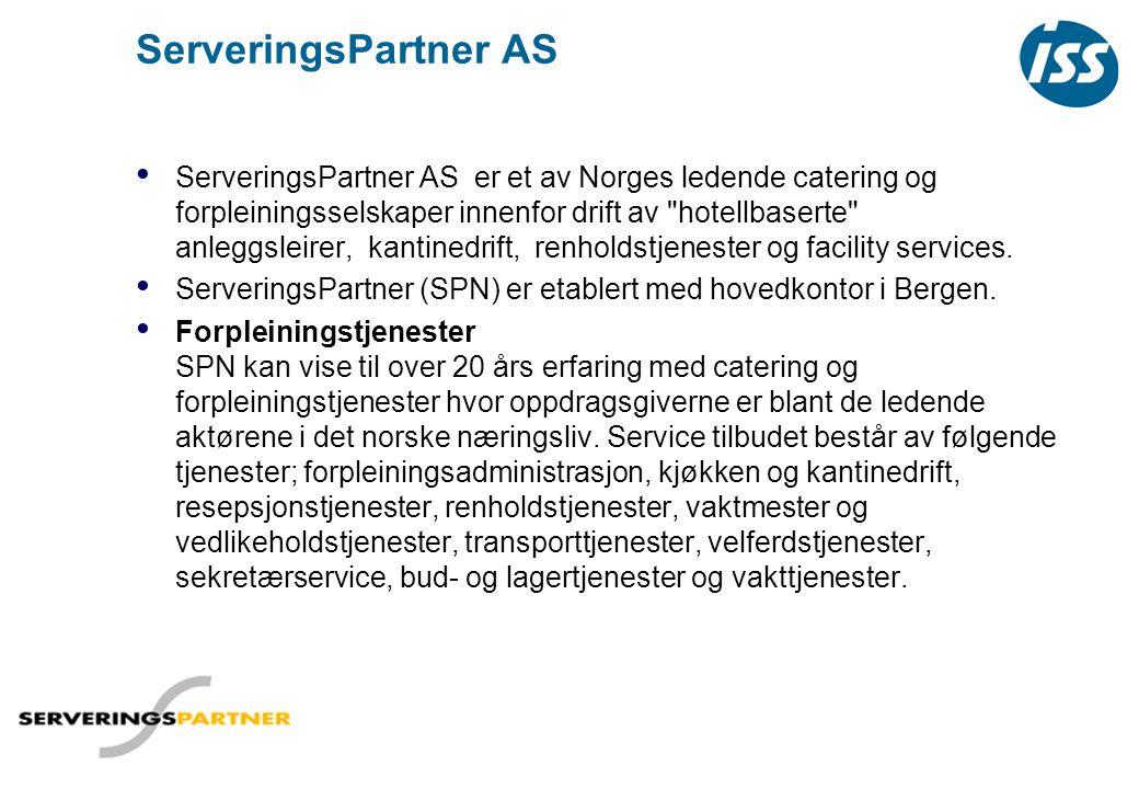 ServeringsPartner AS