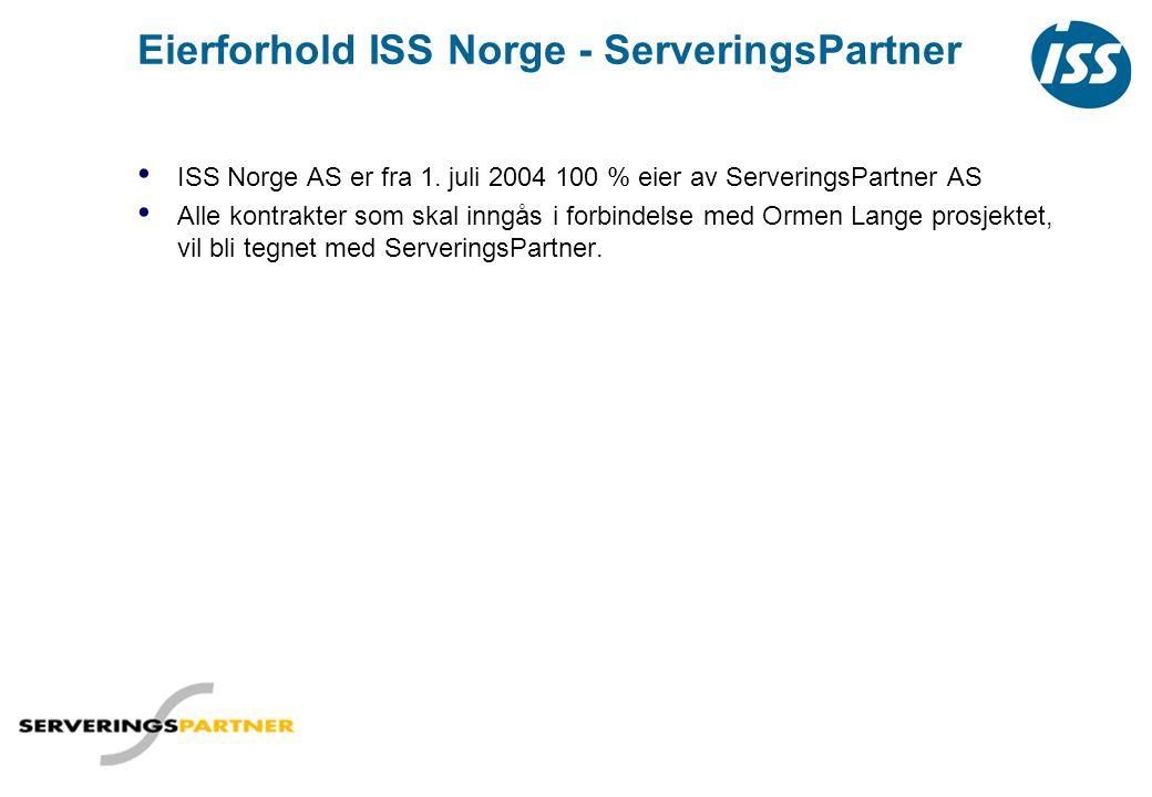 Eierforhold ISS Norge - ServeringsPartner