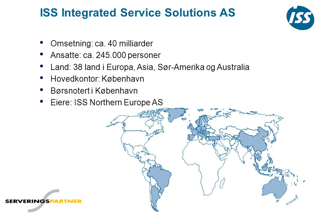 ISS Integrated Service Solutions AS