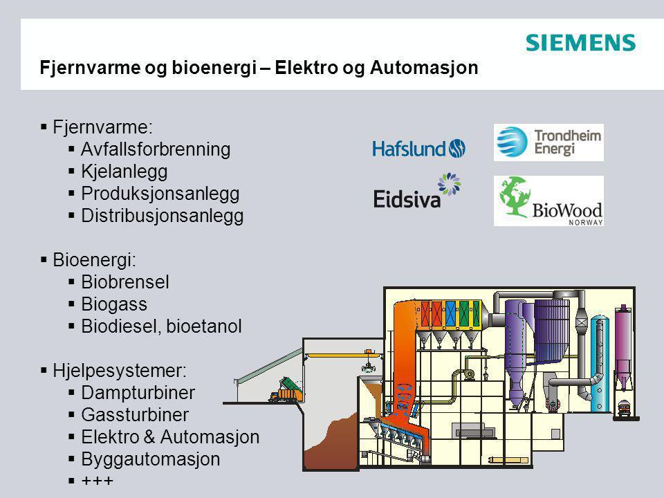 Fjernvarme og bioenergi – Elektro og Automasjon