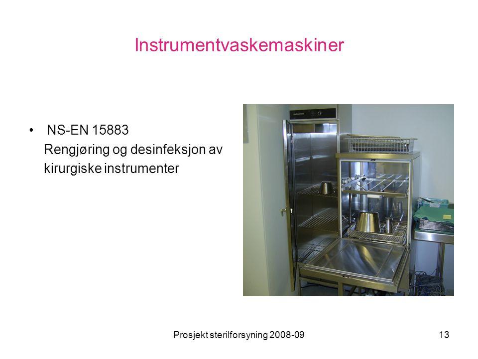 Instrumentvaskemaskiner