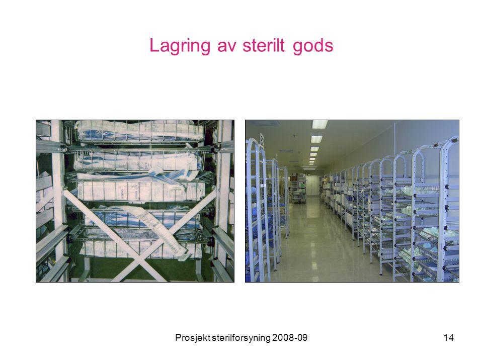 Lagring av sterilt gods