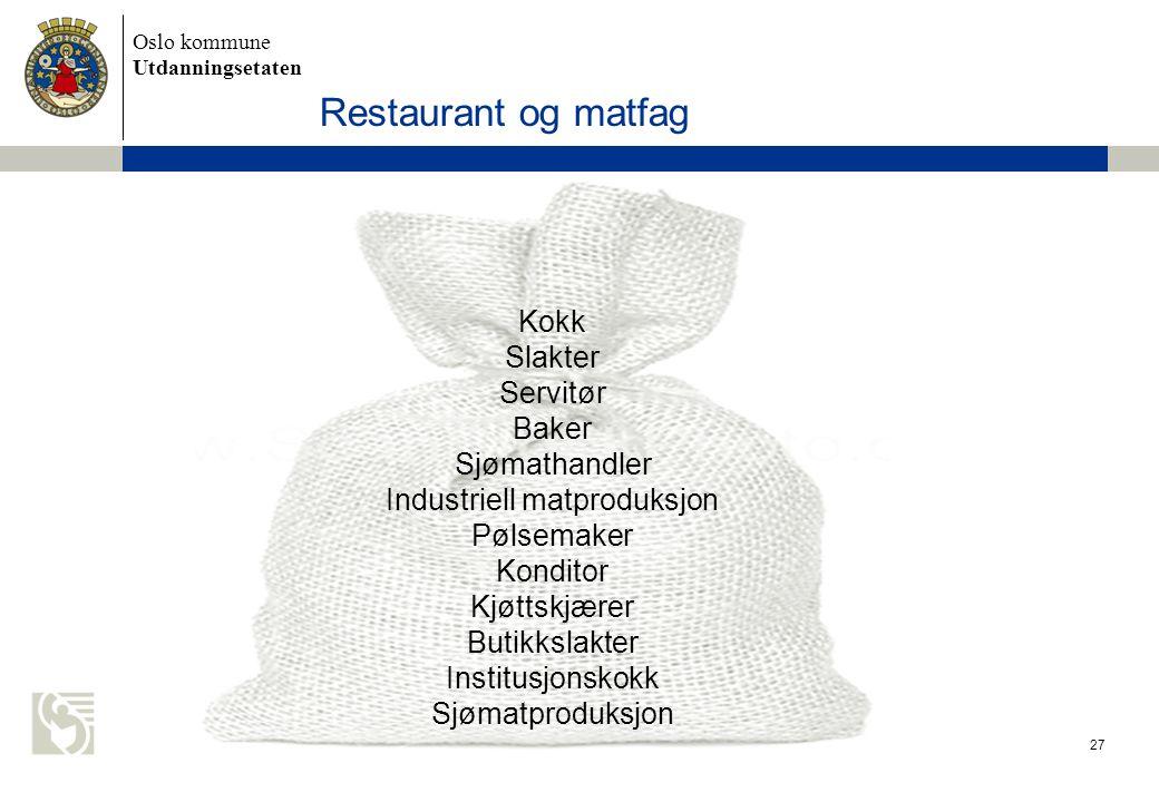 Industriell matproduksjon