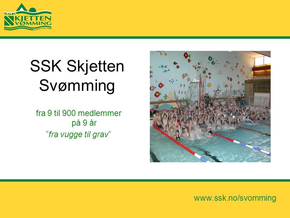 SSK Skjetten Svømming fra 9 til 900 medlemmer på 9 år