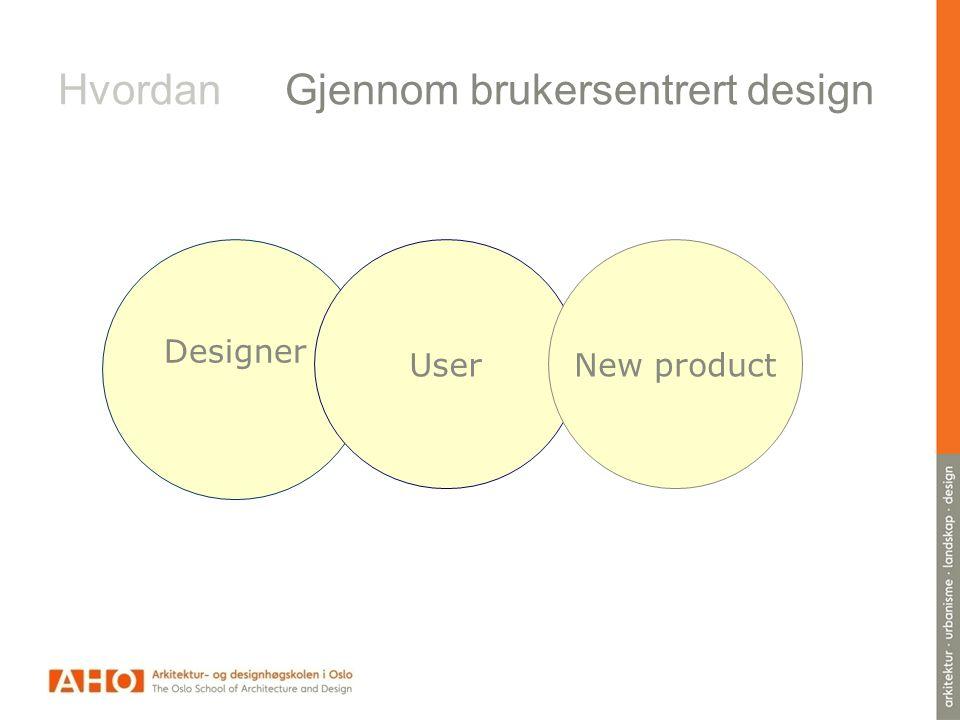 Hvordan Gjennom brukersentrert design