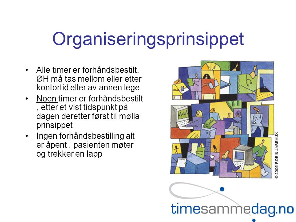 Organiseringsprinsippet