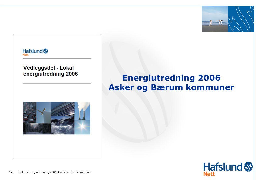 Energiutredning 2006 Asker og Bærum kommuner
