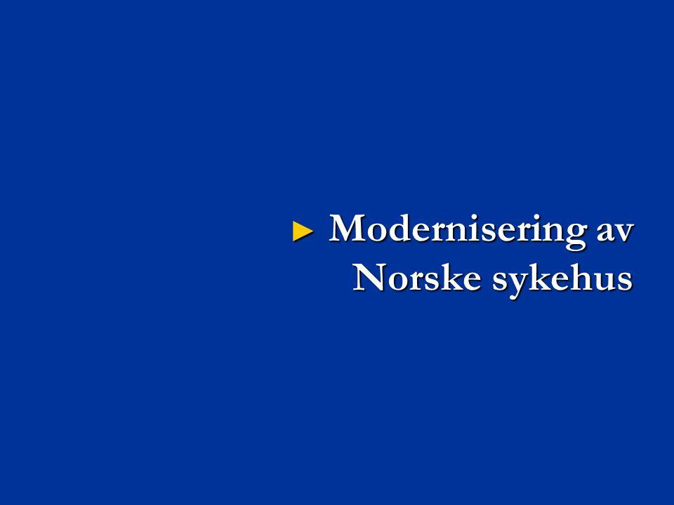 Modernisering av Norske sykehus
