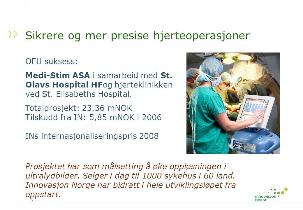 Sikrere og mer presise hjerteoperasjoner