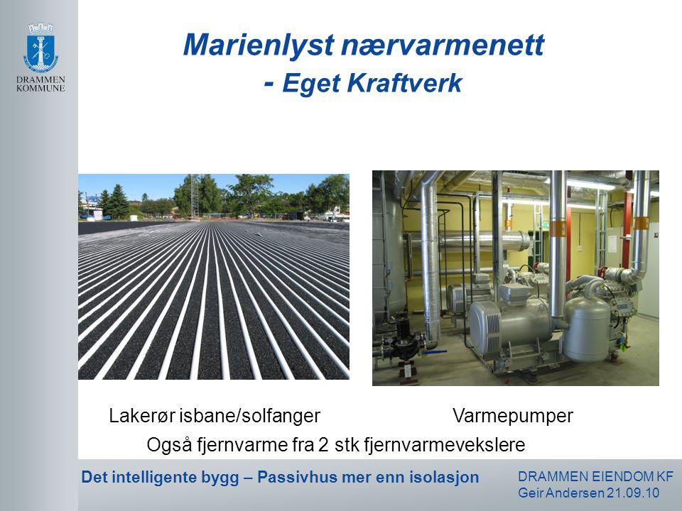 Marienlyst nærvarmenett - Eget Kraftverk