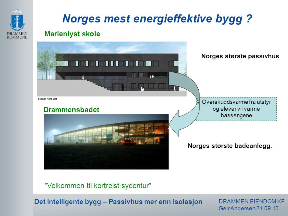 Norges mest energieffektive bygg