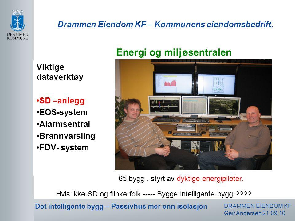 Drammen Eiendom KF – Kommunens eiendomsbedrift.