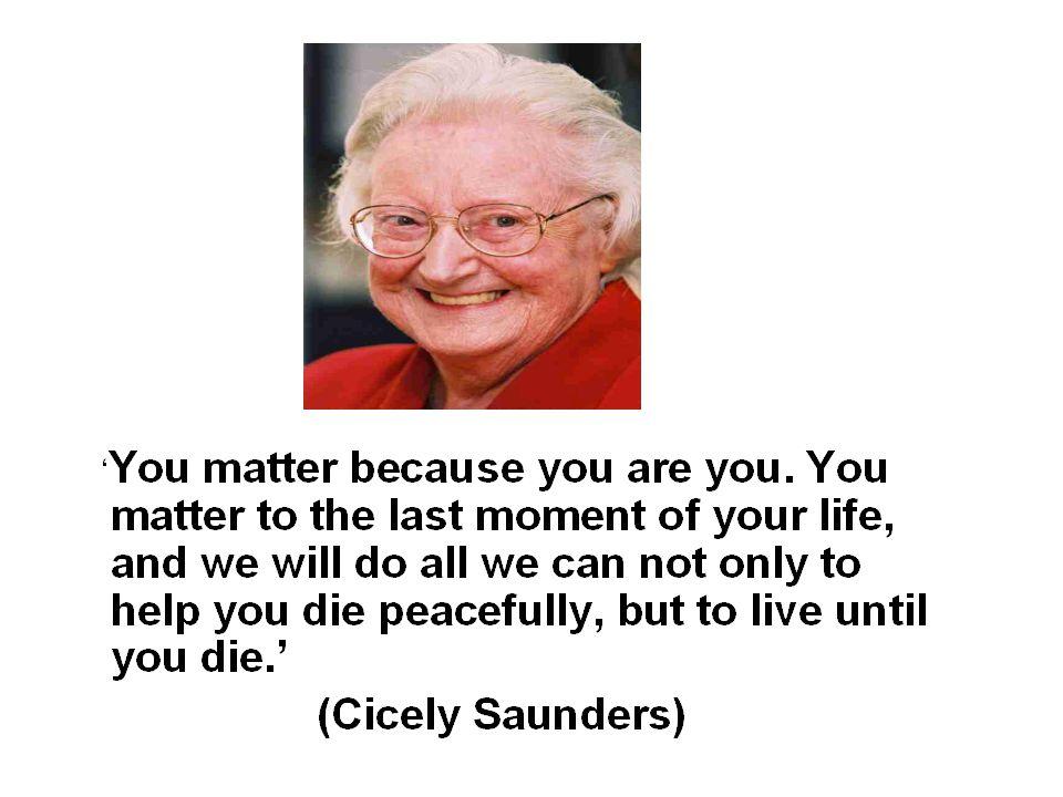 5 … å leve til du dør og å dø fredfullt -