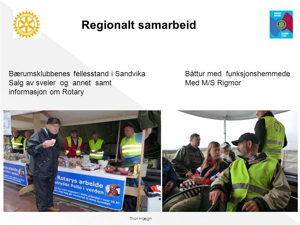 Regionalt samarbeid Bærumsklubbenes fellesstand i Sandvika