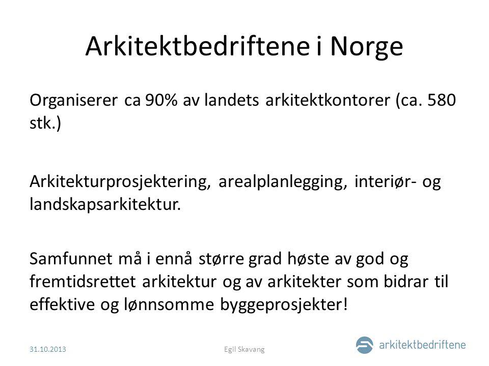 Arkitektbedriftene i Norge