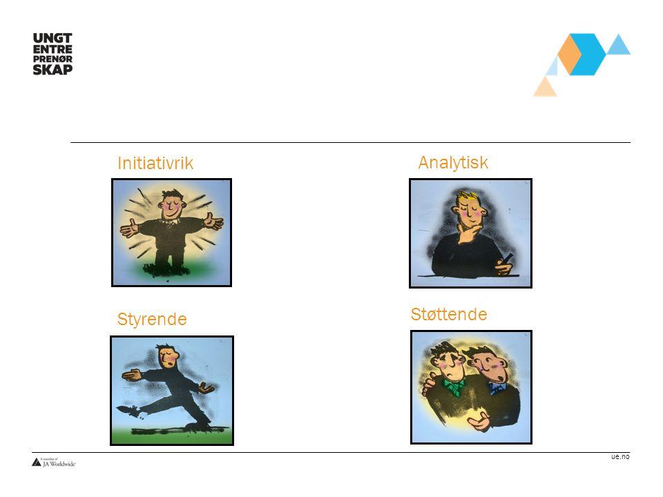 Initiativrik Analytisk Støttende Styrende