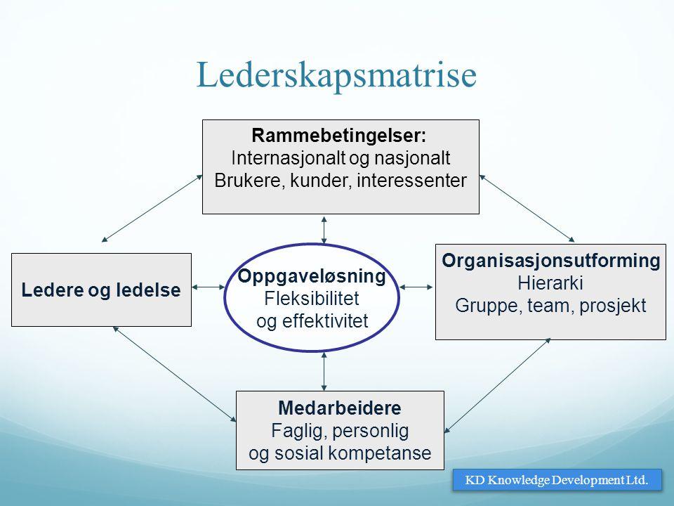 Organisasjonsutforming