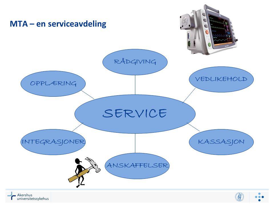 MTA – en serviceavdeling
