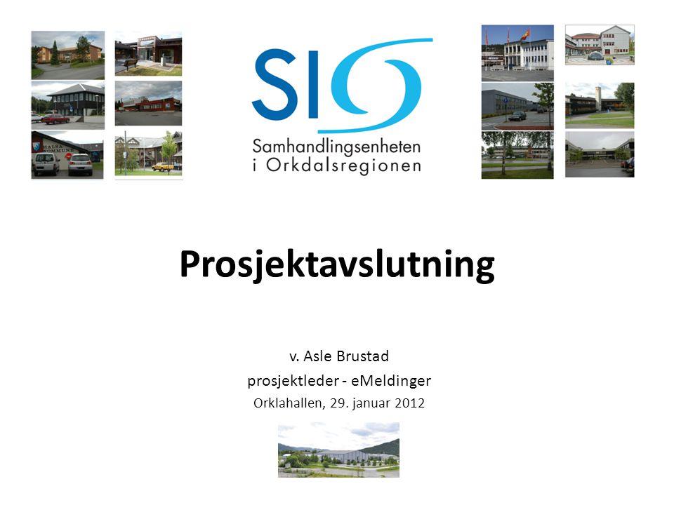 prosjektleder - eMeldinger