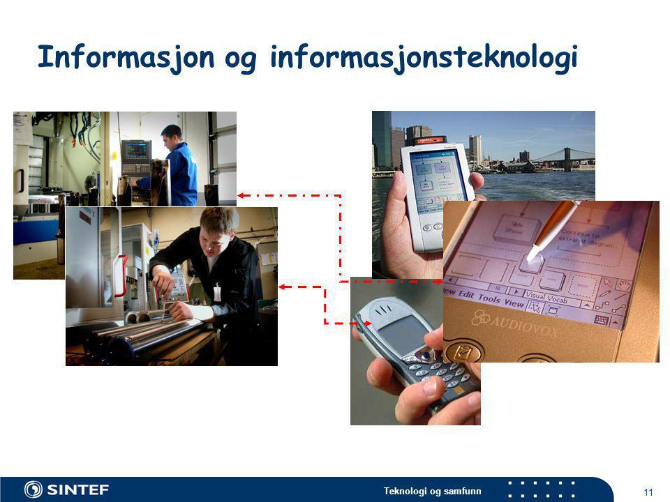 Informasjon og informasjonsteknologi