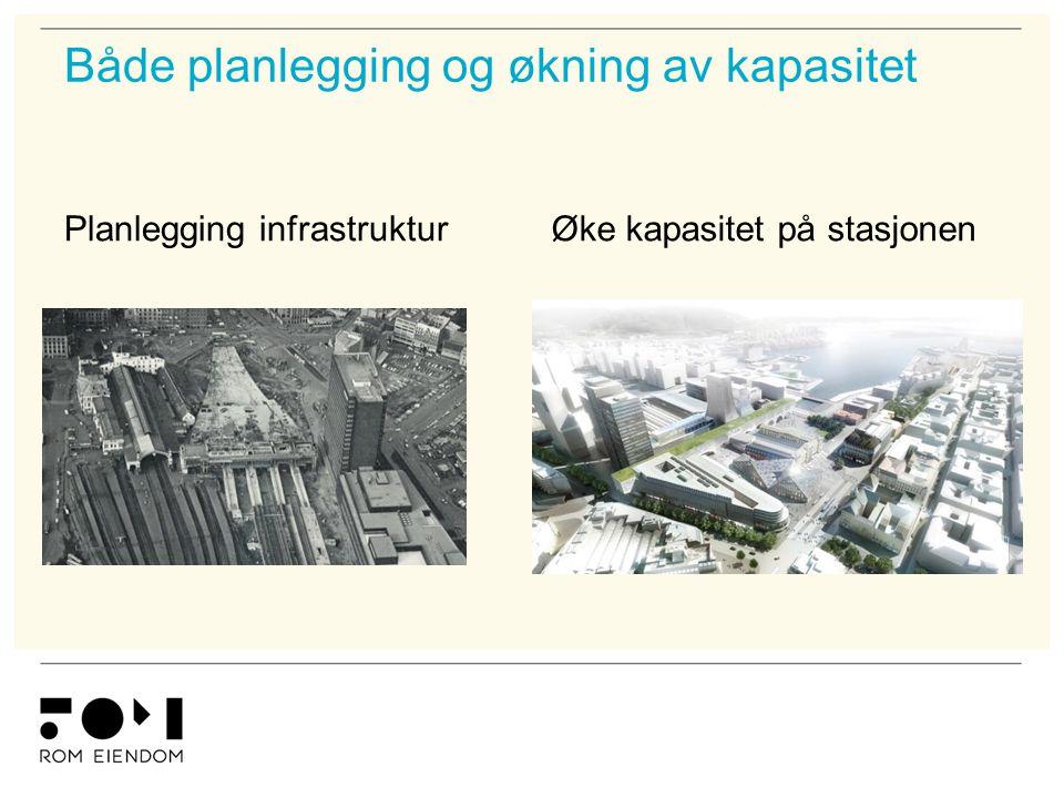 Både planlegging og økning av kapasitet