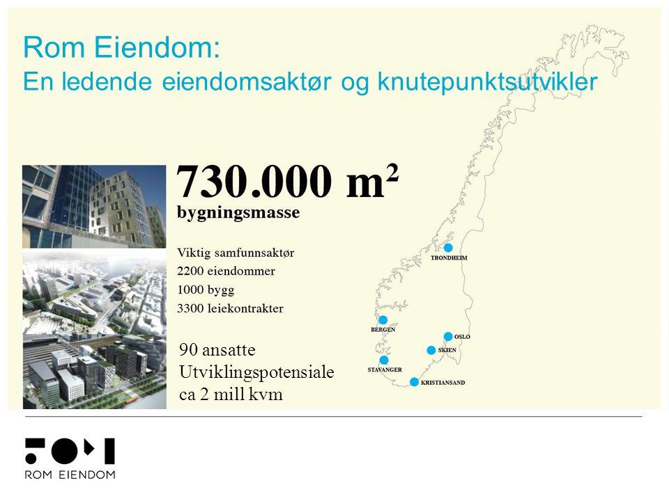 Rom Eiendom: En ledende eiendomsaktør og knutepunktsutvikler