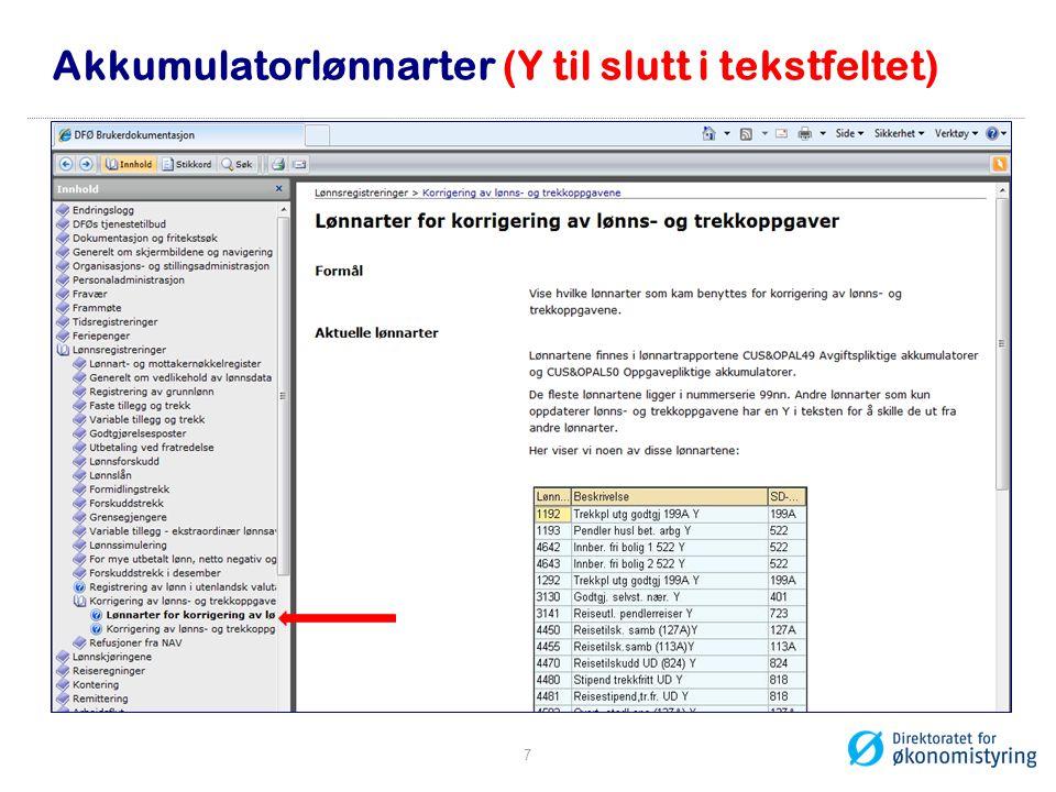 Akkumulatorlønnarter (Y til slutt i tekstfeltet)