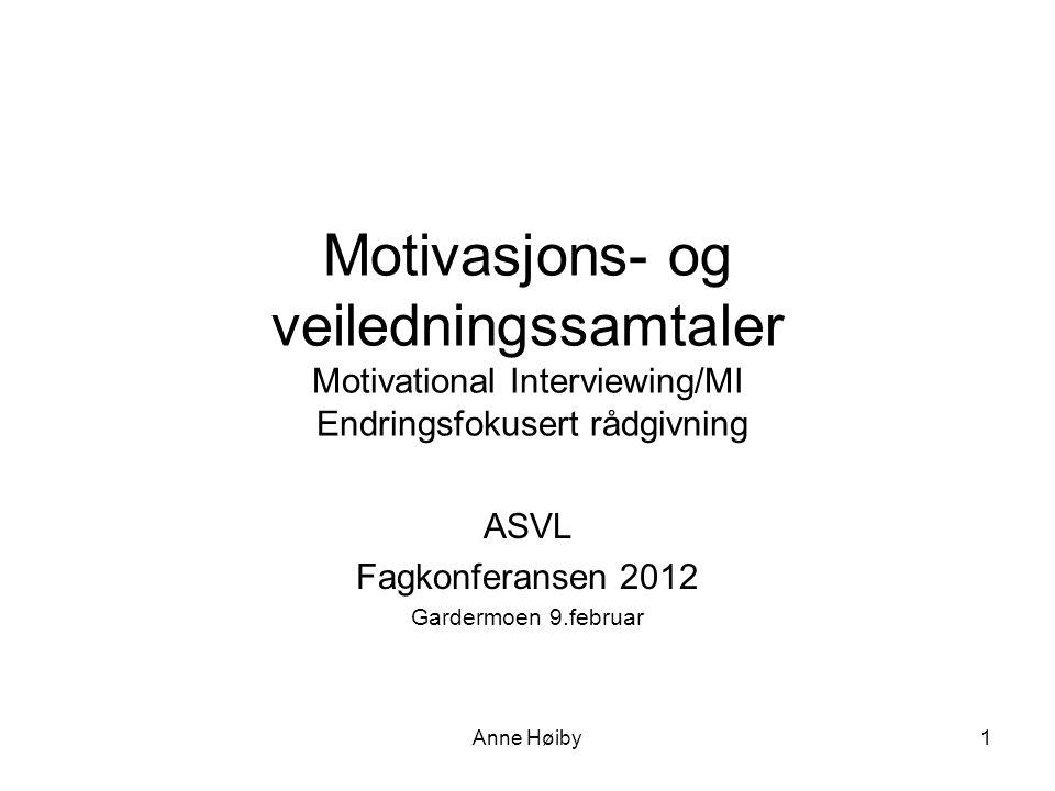 ASVL Fagkonferansen 2012 Gardermoen 9.februar