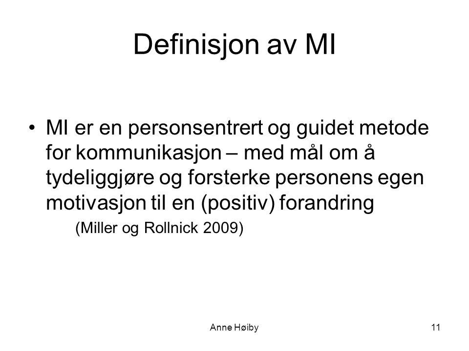 Definisjon av MI
