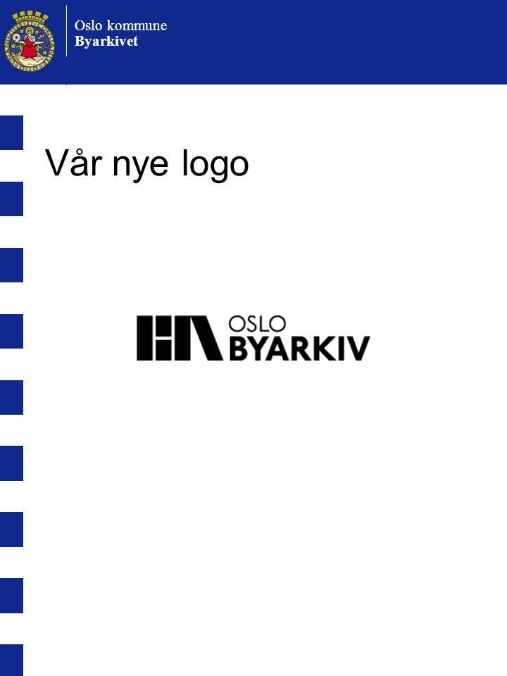 Vår nye logo