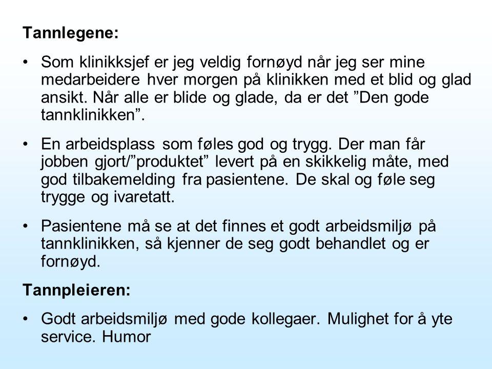 Tannlegene: