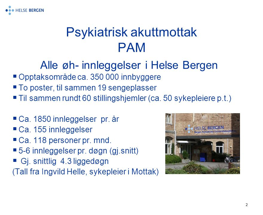 Psykiatrisk akuttmottak PAM