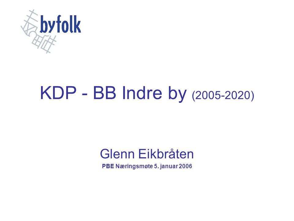 Glenn Eikbråten PBE Næringsmøte 5. januar 2006