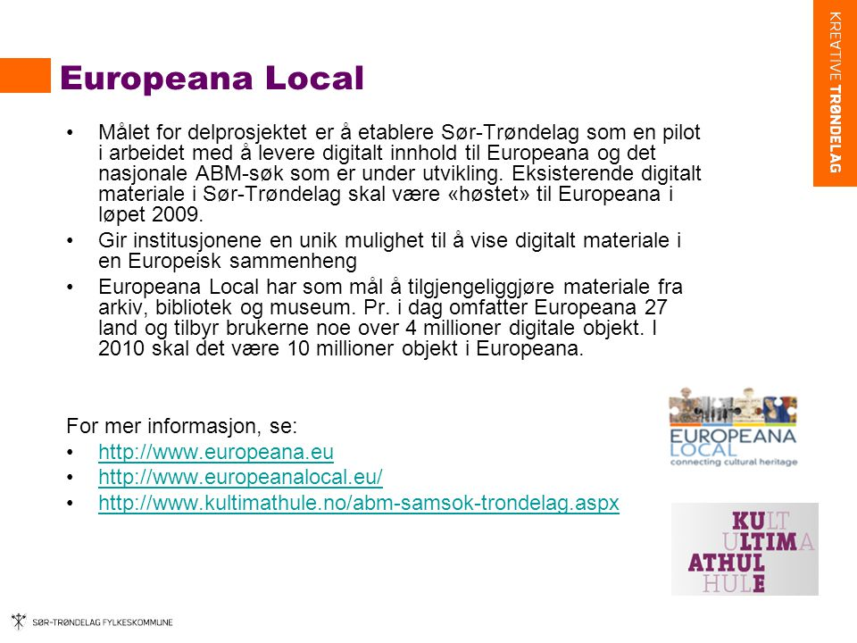 Europeana Local