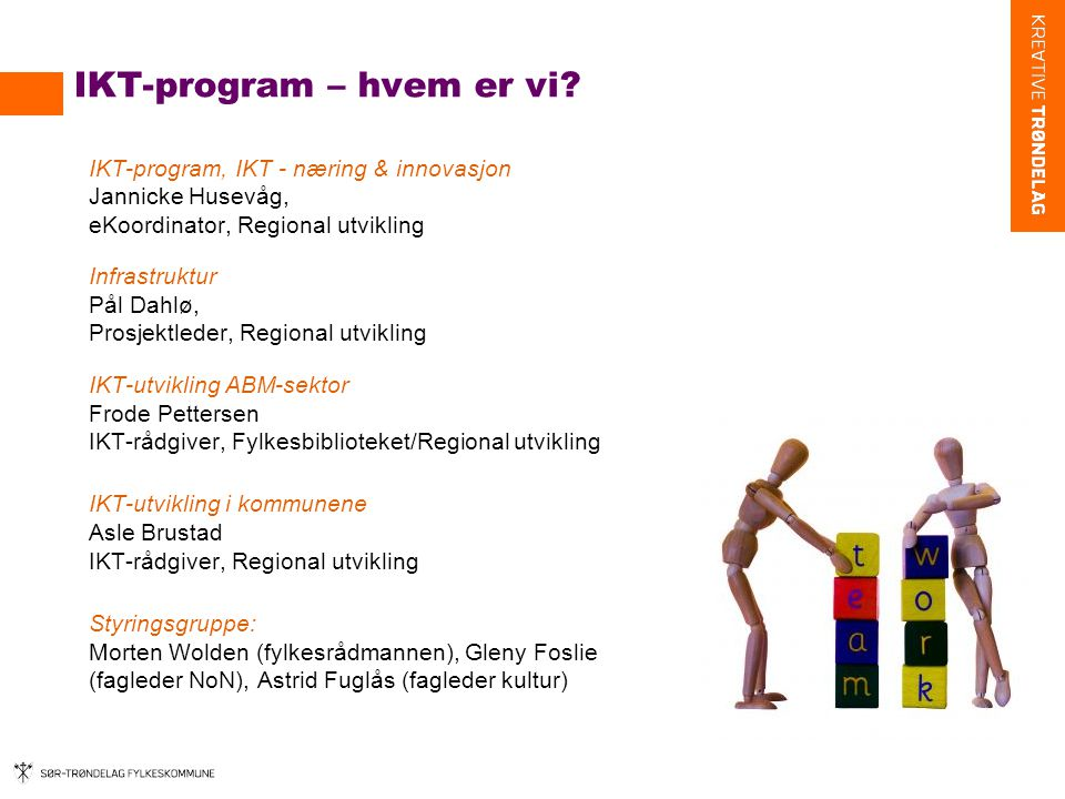 IKT-program – hvem er vi