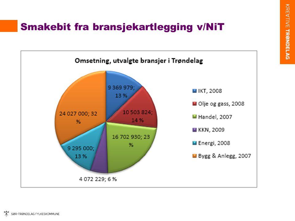 Smakebit fra bransjekartlegging v/NiT
