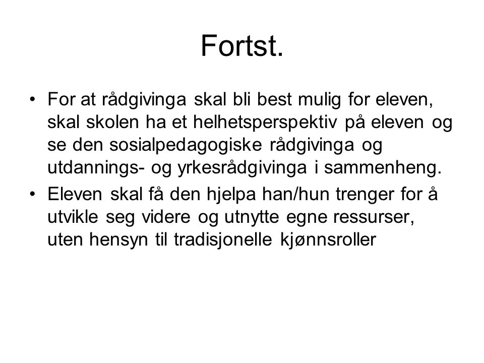 Fortst.