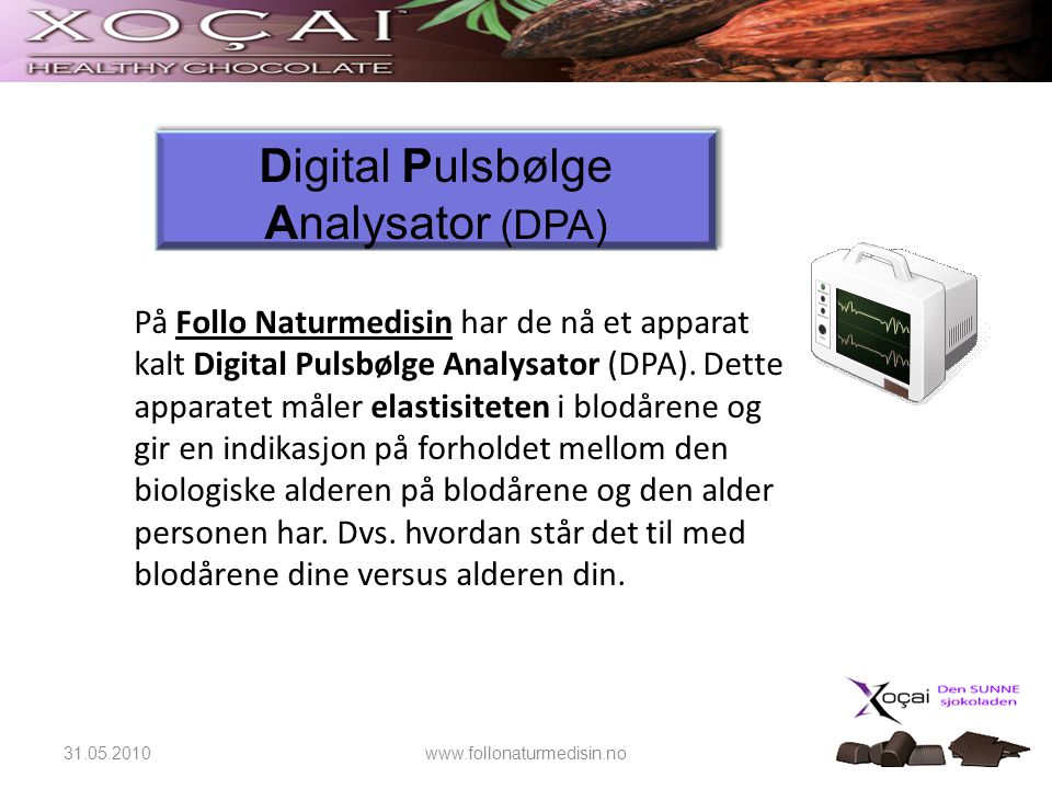 Digital Pulsbølge Analysator (DPA)