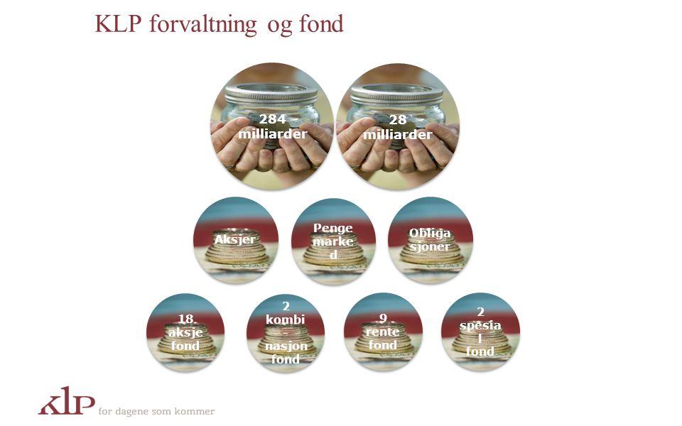 KLP forvaltning og fond