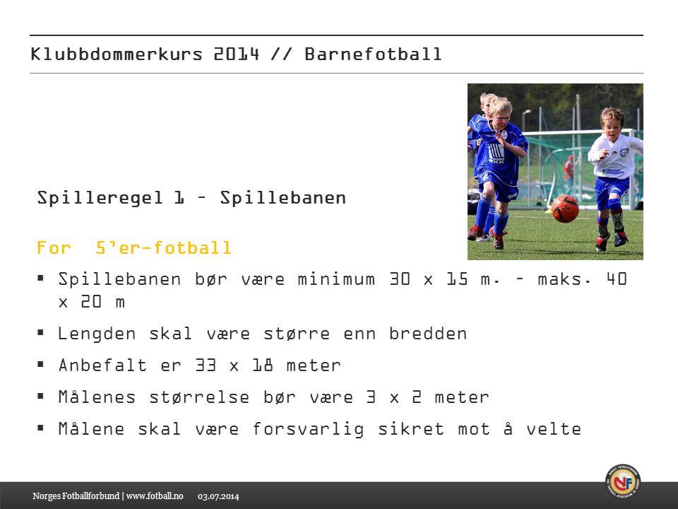 Klubbdommerkurs 2014 // Barnefotball