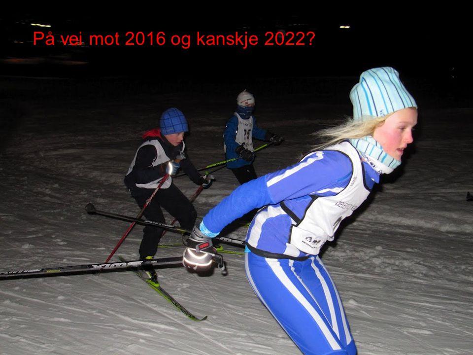 På vei mot 2016 og kanskje 2022. Frivillige under ungdoms-OL, ledere under Oslo2022.