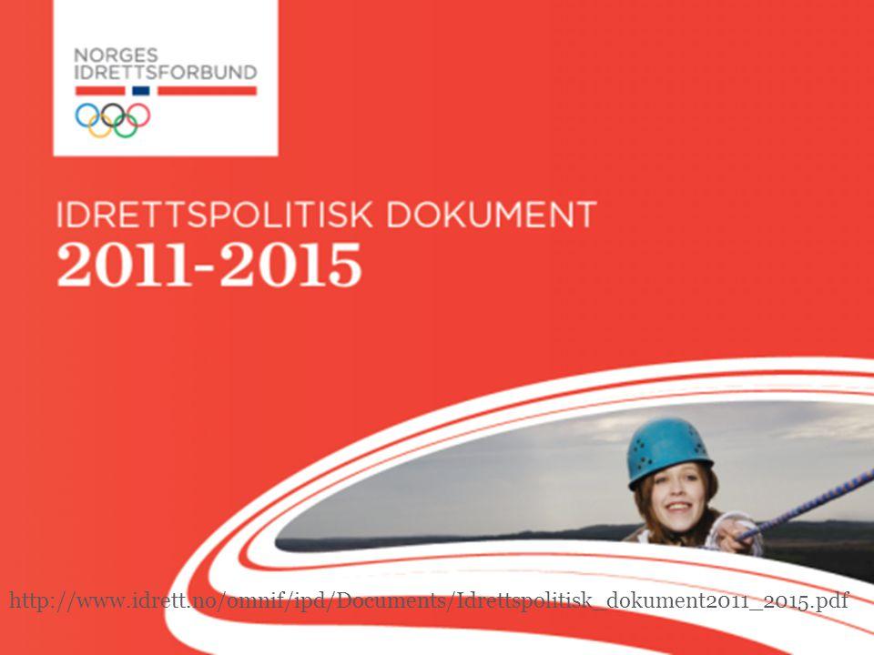 http://www.idrett.no/omnif/ipd/Documents/Idrettspolitisk_dokument2011_2015.pdf