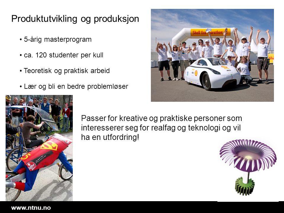 Produktutvikling og produksjon