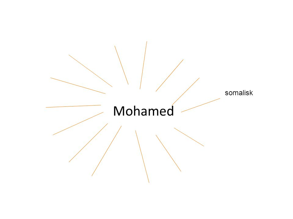 somalisk Mohamed