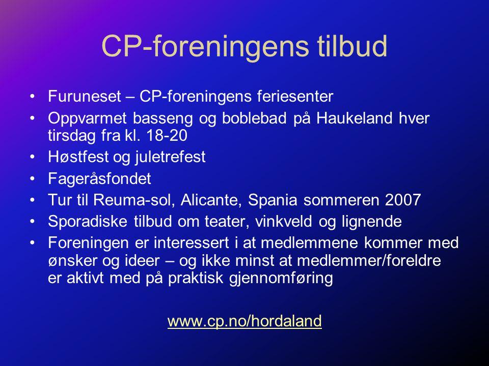 CP-foreningens tilbud