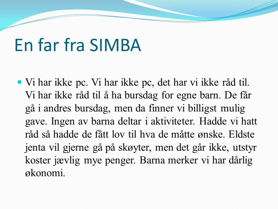 En far fra SIMBA