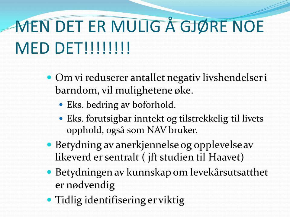 MEN DET ER MULIG Å GJØRE NOE MED DET!!!!!!!!