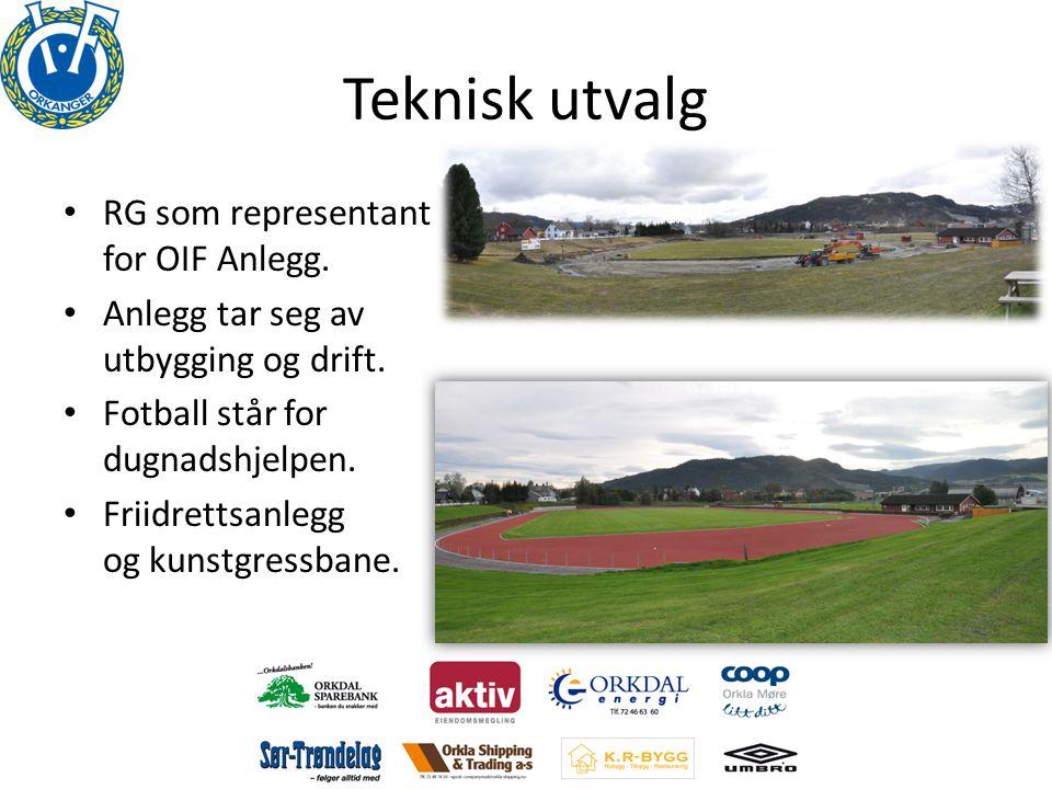 Teknisk utvalg RG som representant for OIF Anlegg.